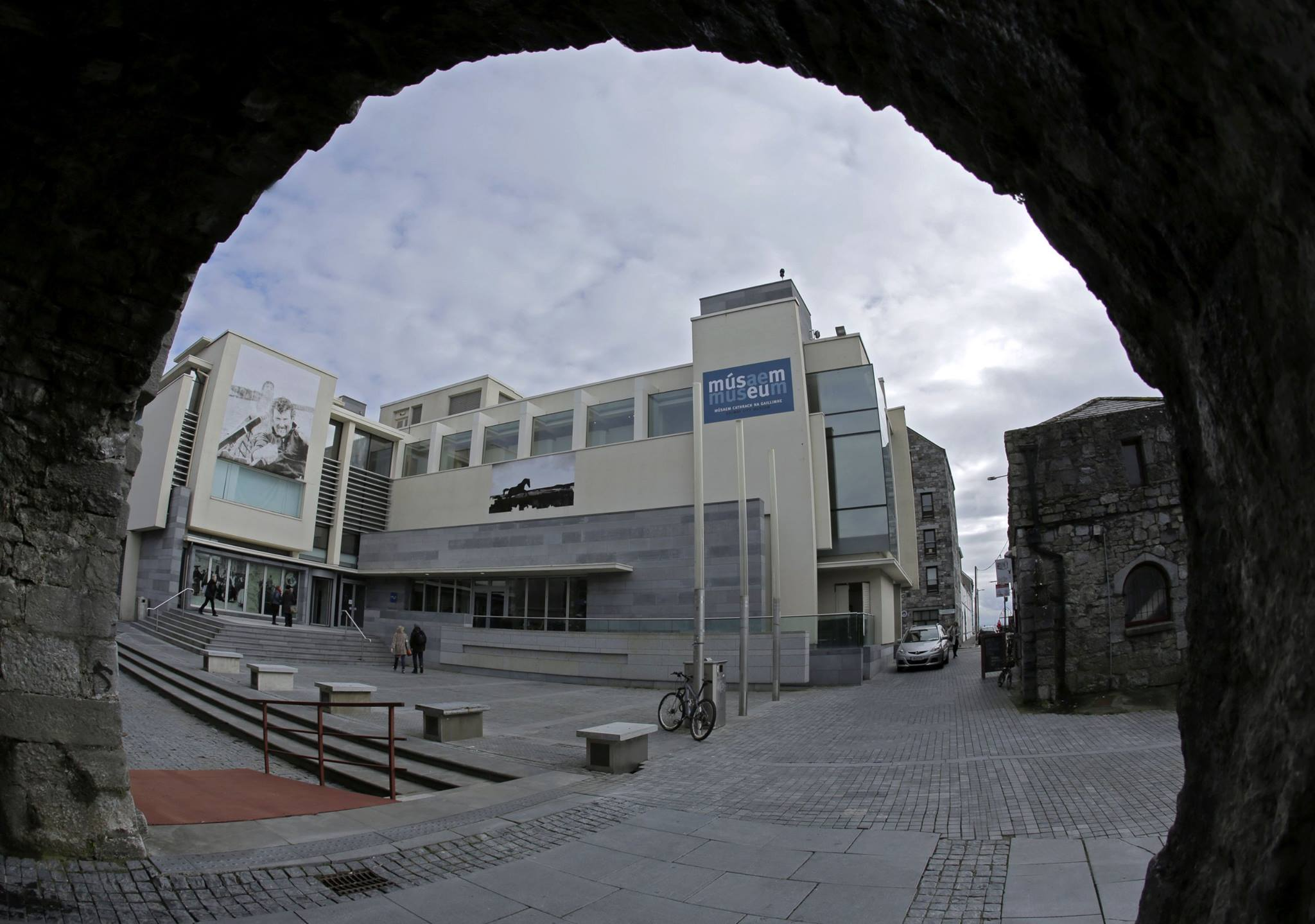 Galway City Museum From Under Spanish Arch