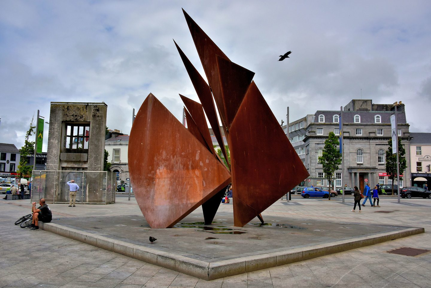 Galway Hooker Monument Eyre Square Galway - Visit Galway