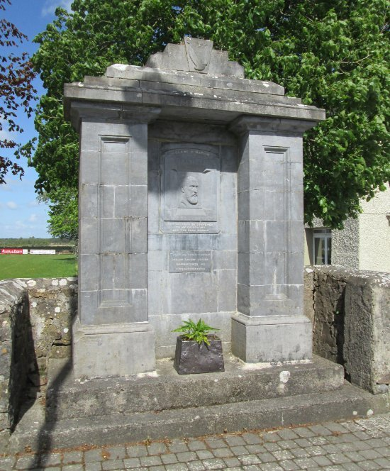 Parnell Monument Creggs Village - Visit Galway