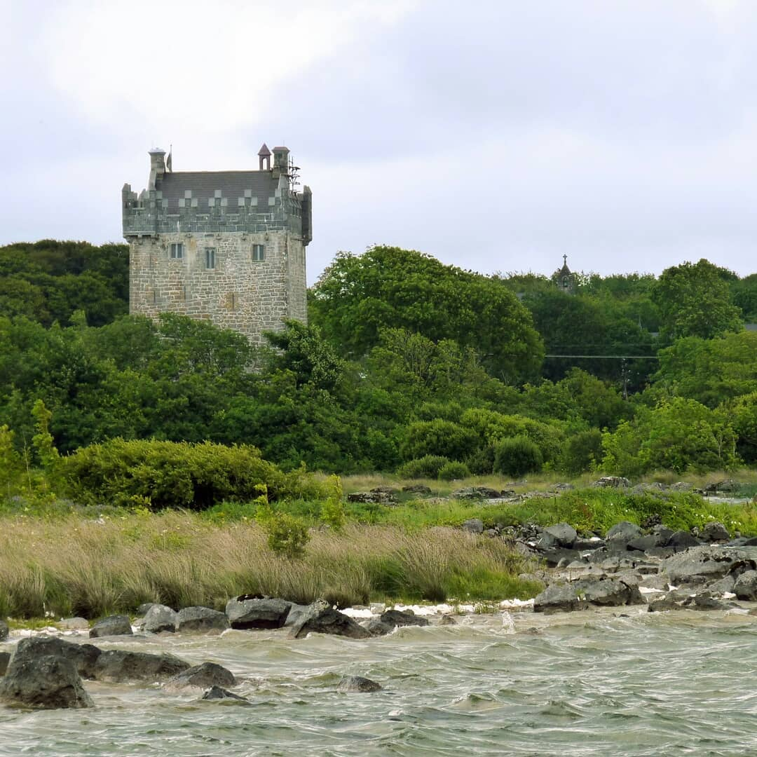 Annaghdown Castle Corrib Lake - Visit Galway