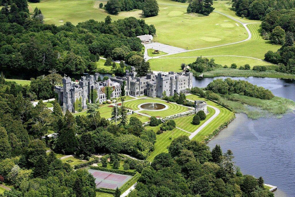 Ashford Castle Aerial Pic - Visit Galway