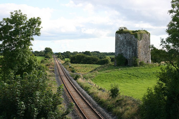 Ballymaquiff Castle and Railway Track - Visit Galway