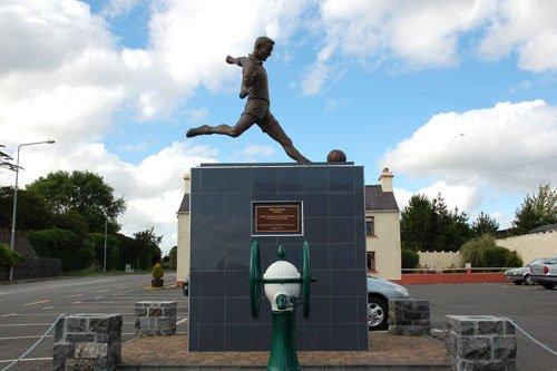 Enda Colleran Statue in Moylough Galway - Visit Galway