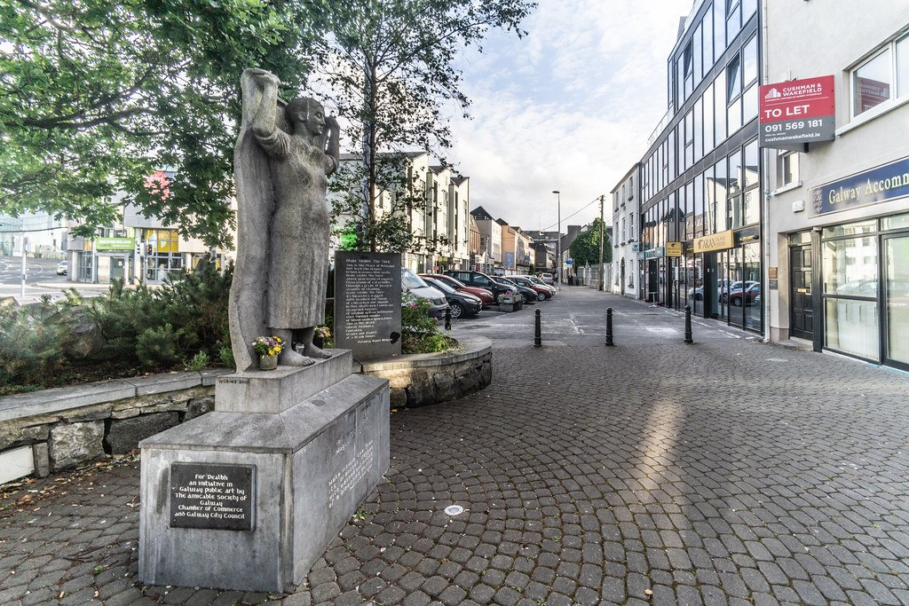 Final Journey Statue - Visit Galway
