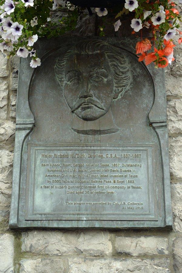 Major Richard W.Dowling Sculpture - Visit Galway