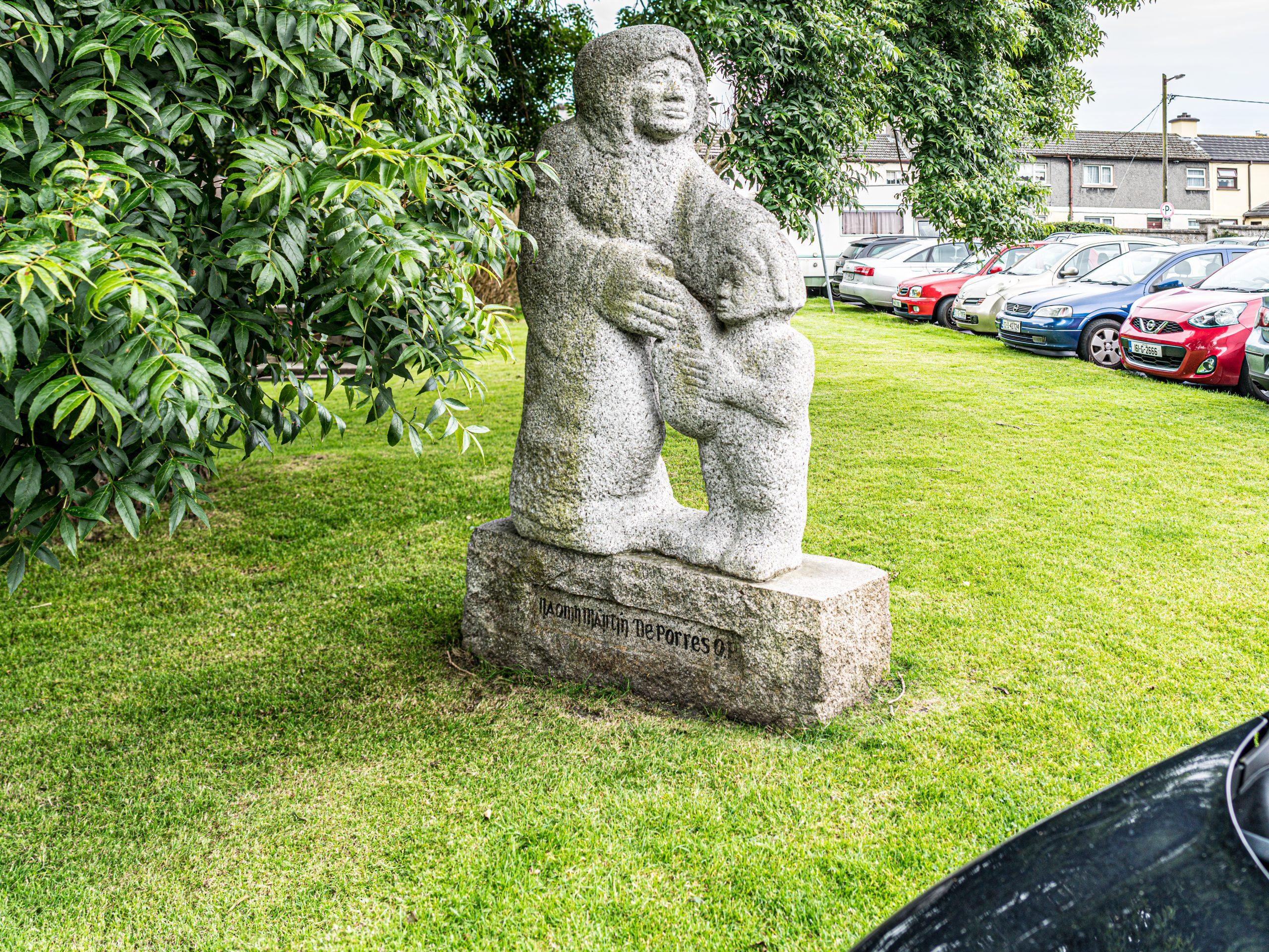 Naomh Máitín De Porres Statue Claddagh - Visit Galway