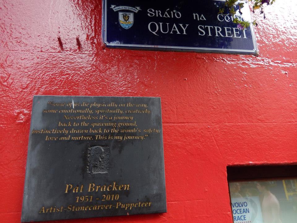 Pat Bracken Plaque - Visit Galway