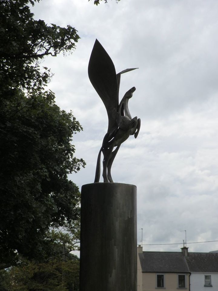 Winged Horse Statue - Visit Galway