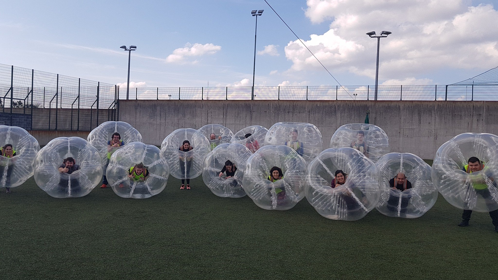 Astrobay Bubble Football in Galway - Visit Galway