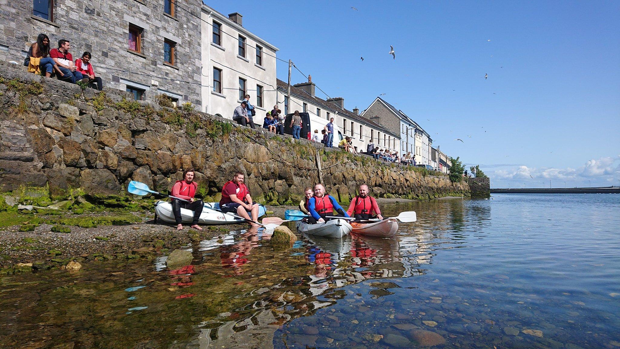 Bow Waves Kayaking Galway Bay - Visit Galway