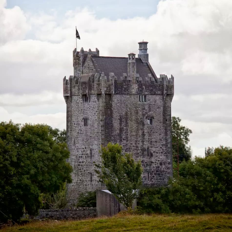 Caher Castle From A Distance - Visit Galway