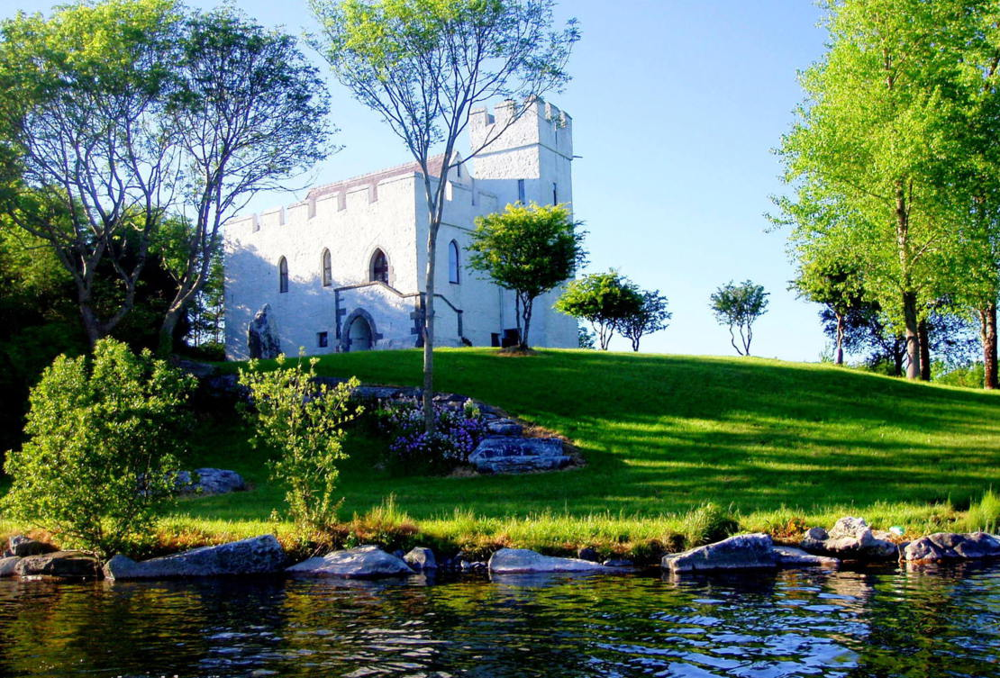 Carraigin Castle From The Lake - Visit Galway