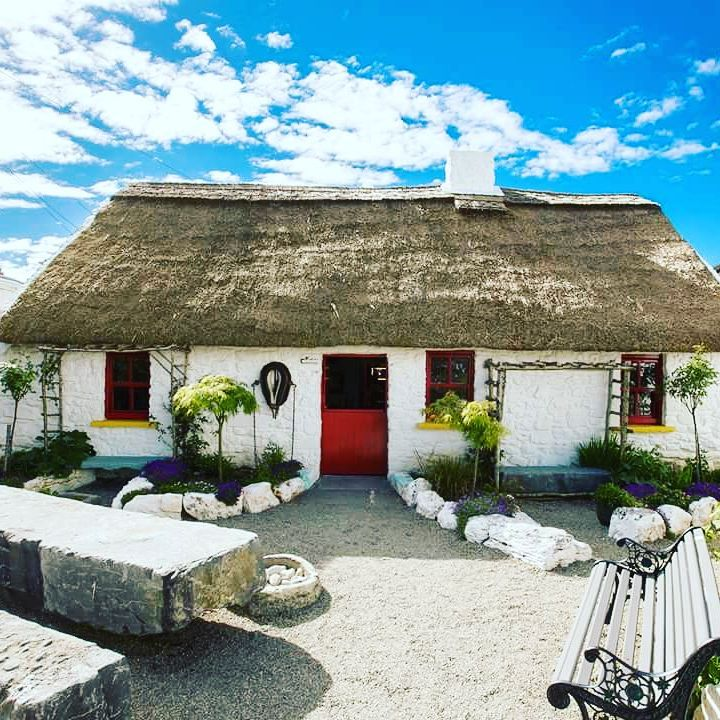 Claddagh Arts Centre and Katie's Cottage Ireland - Visit Galway