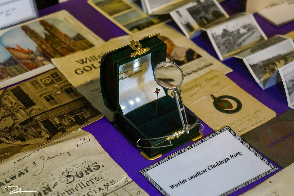 Claddagh Ring Museum World's Smallest Claddagh Ring - Visit Galway