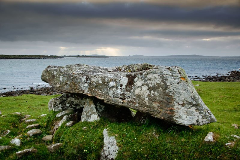 Cleggan Court Tomb Knockbrack Tomb in Connemara - Visit Galway