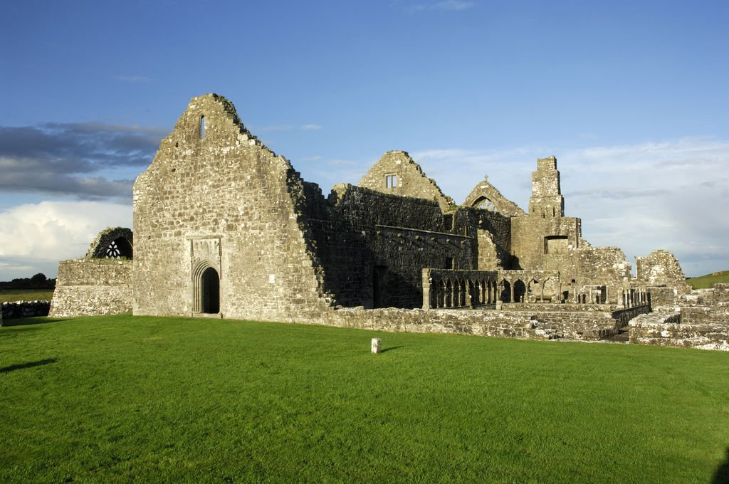 Clontuskert Augustinian Friary Abbey in Galway - Visit Galway
