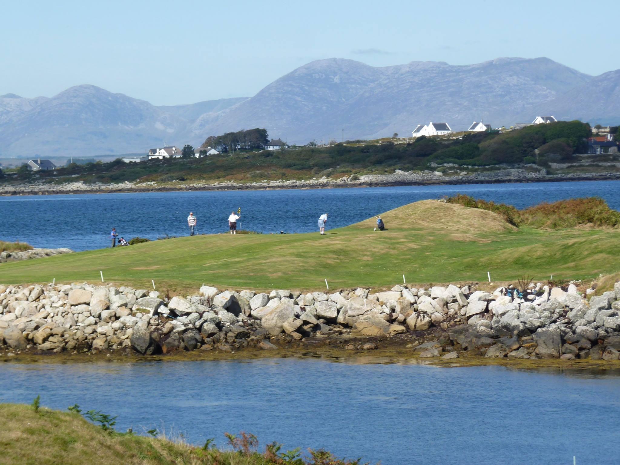 Connemara Isles Golf Club Views - Visit Galway