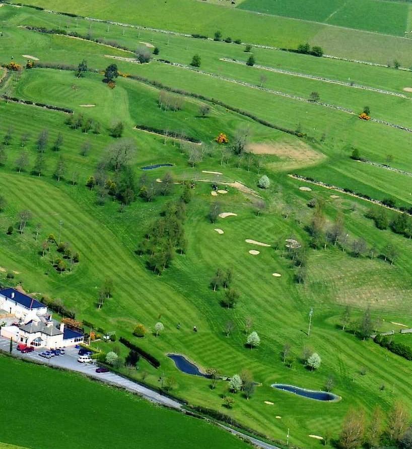 Curra West Golf Club Aerial Pic - Visit Galway