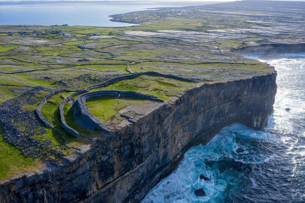 Dún Aonghasa Fort on Aran Islands - Visit Galway