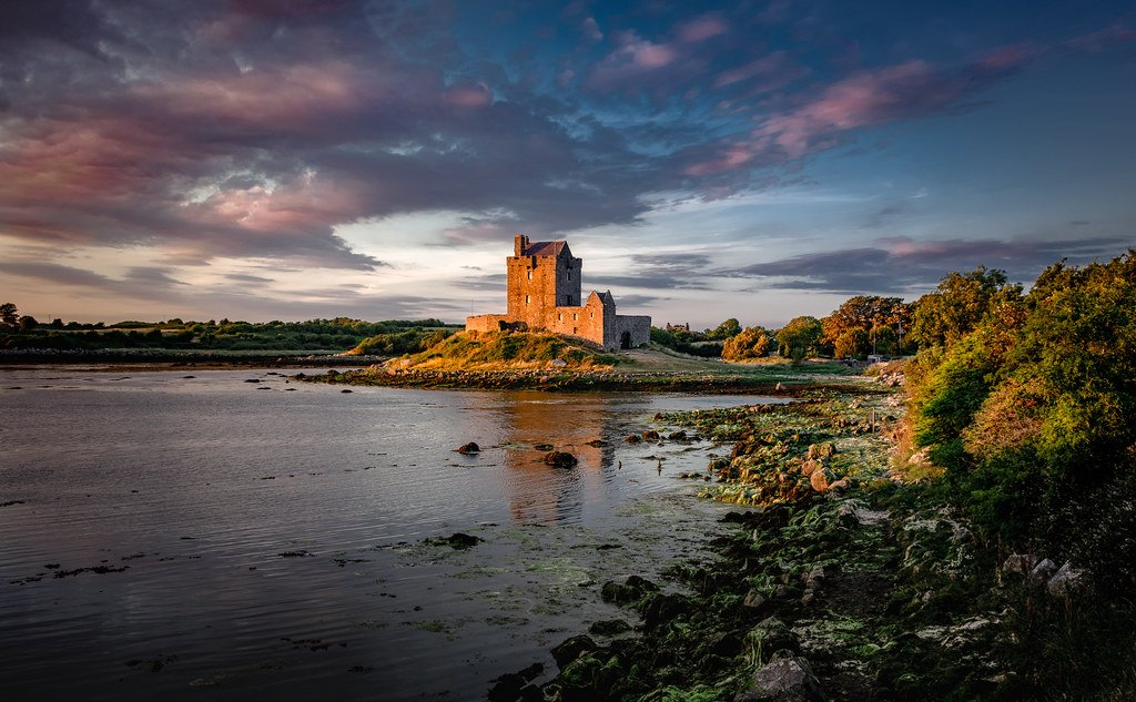 Dunguaire Castle Across The Bay - Visit Galway