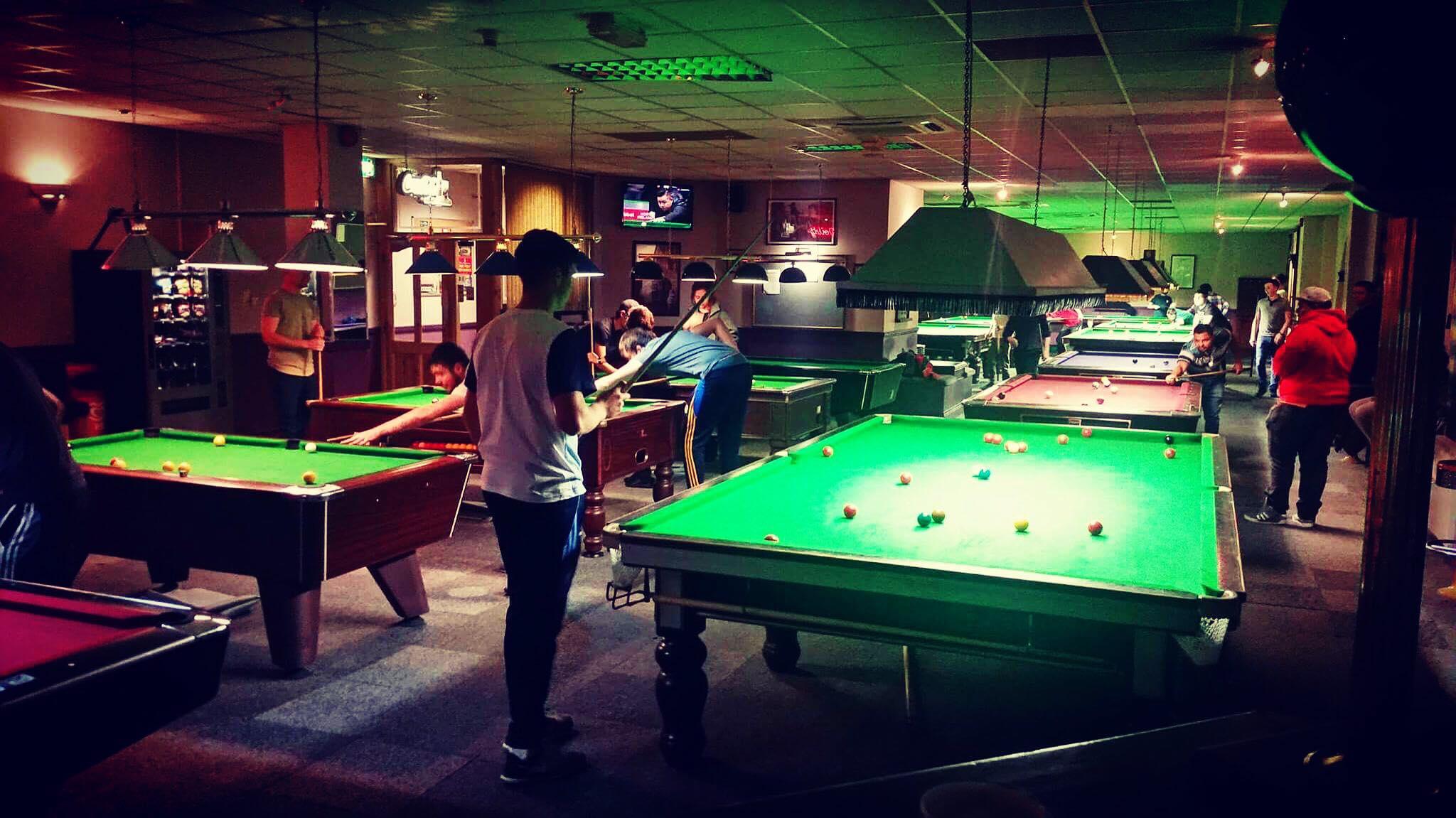 Eglinton Snooker Tables - Visit Galway