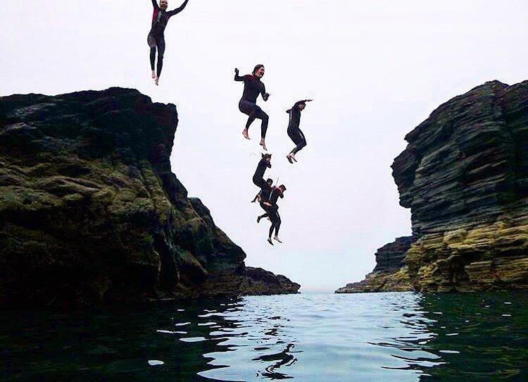 Epic Ireland Adventures Cliff Diving - Visit Galway