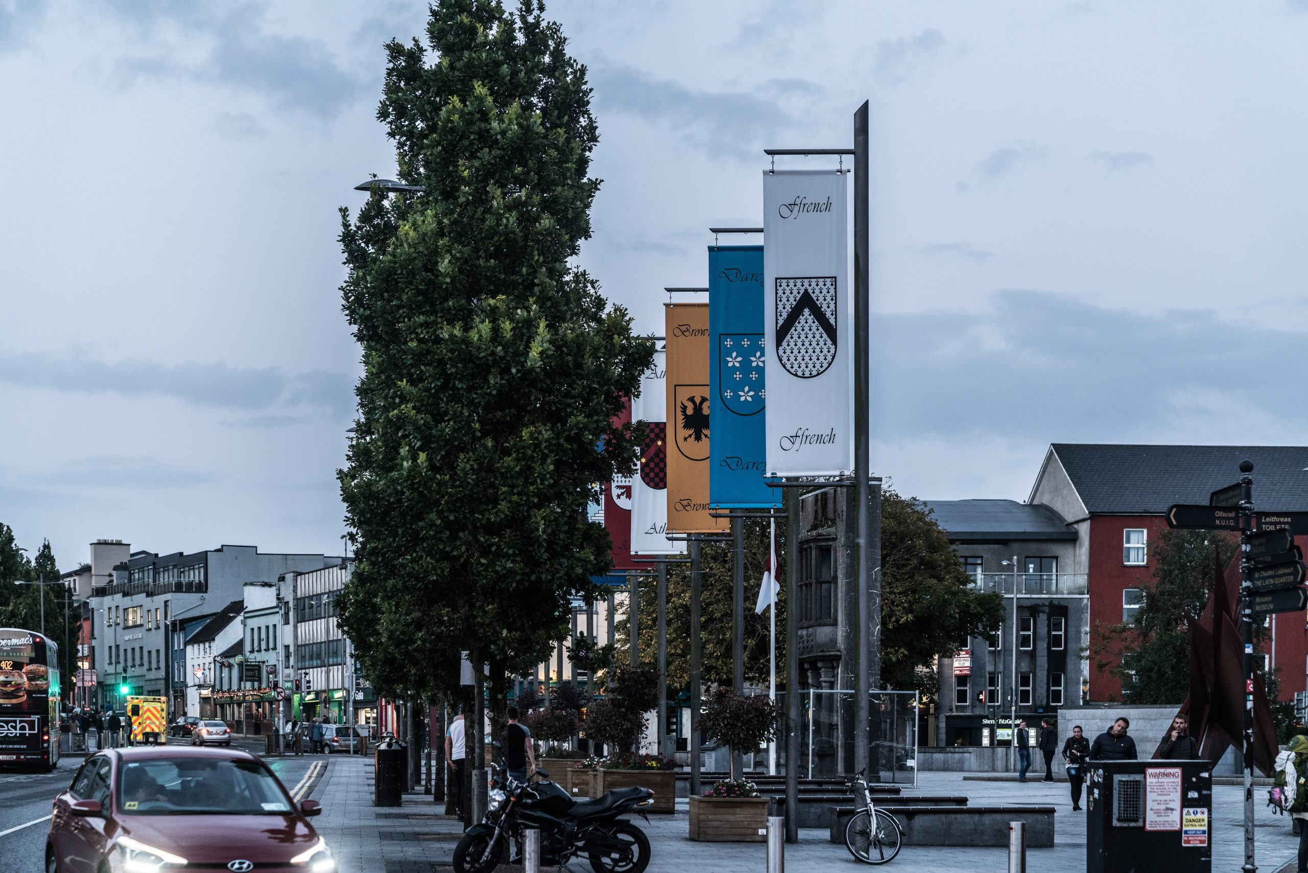 Eyre Square Flags - Visit Galway