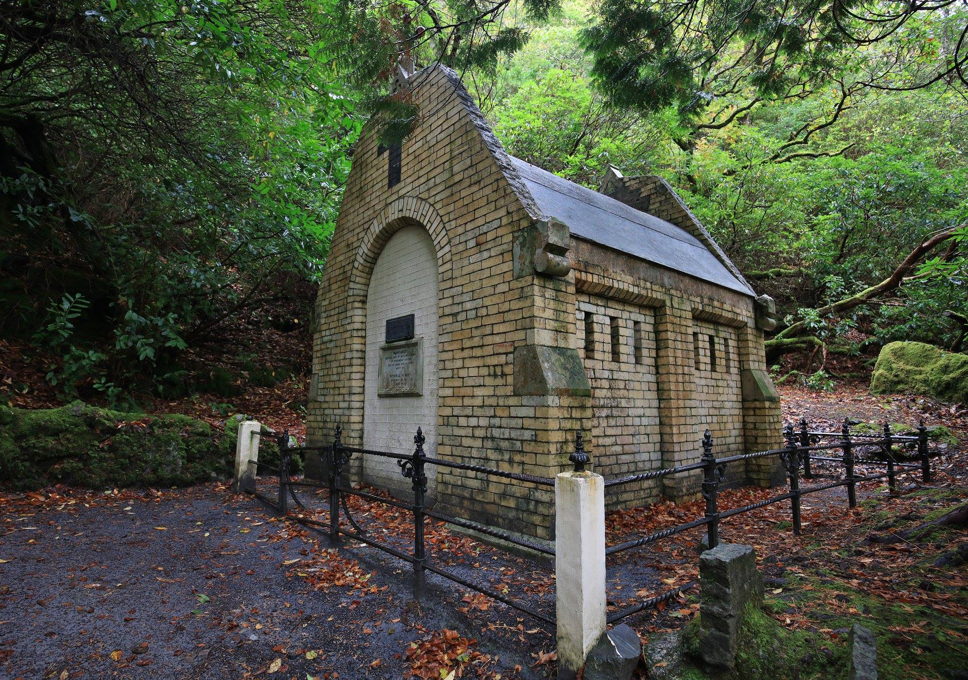 Henry Mausoleum at Kylemore Abbey - Visit Galway