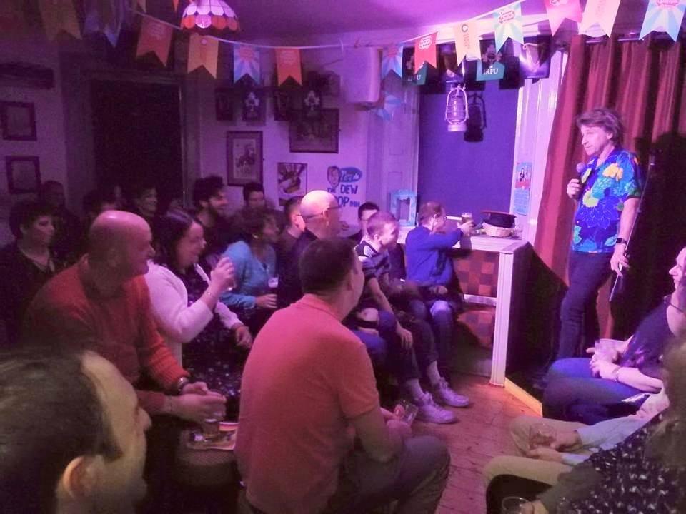 Ireland's Smallest Comedy Club Dew Drop Inn - Visit Galway