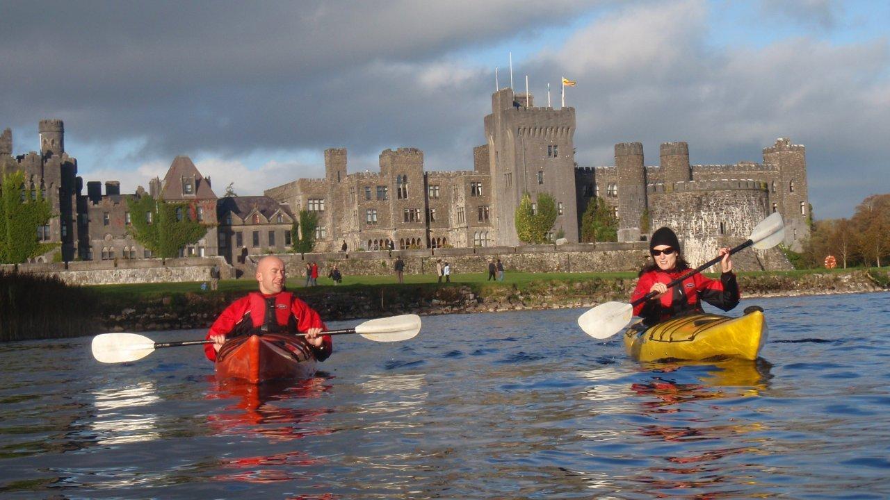 Kayakmor Kayaking Lough Corrib - Visit Galway