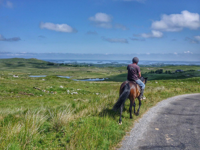Knockillaree Riding Centre Horse Trekking - Visit Galway