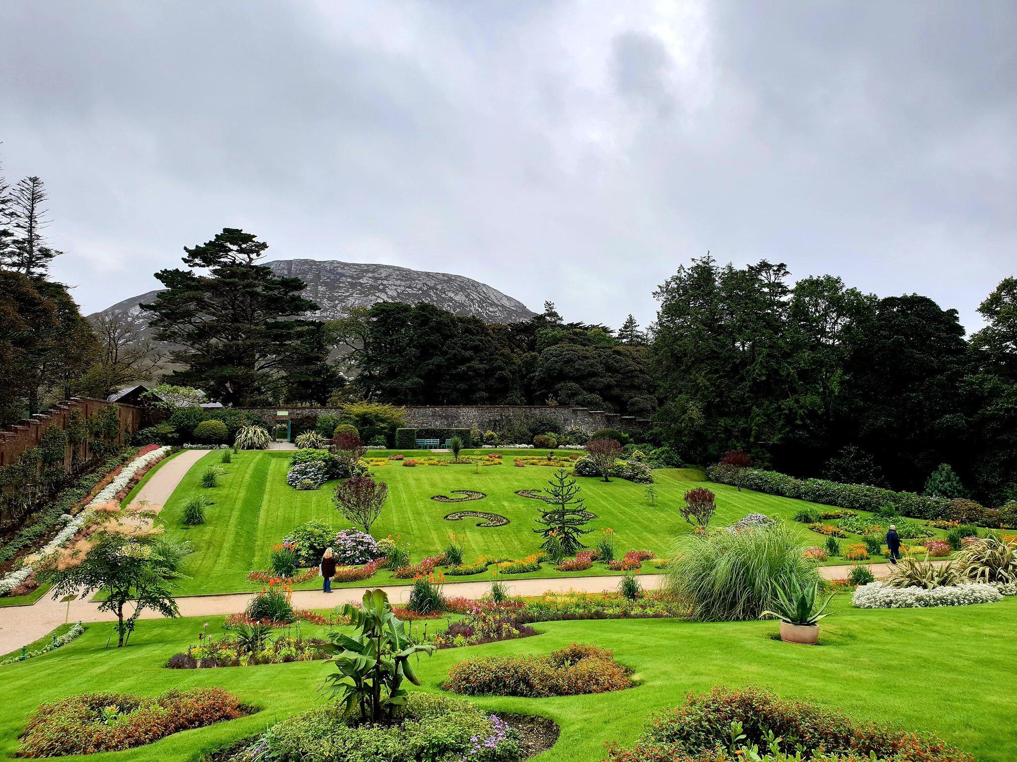 Kylemore Abbey Victorian Walled Garden Galway Ireland - Visit Galway