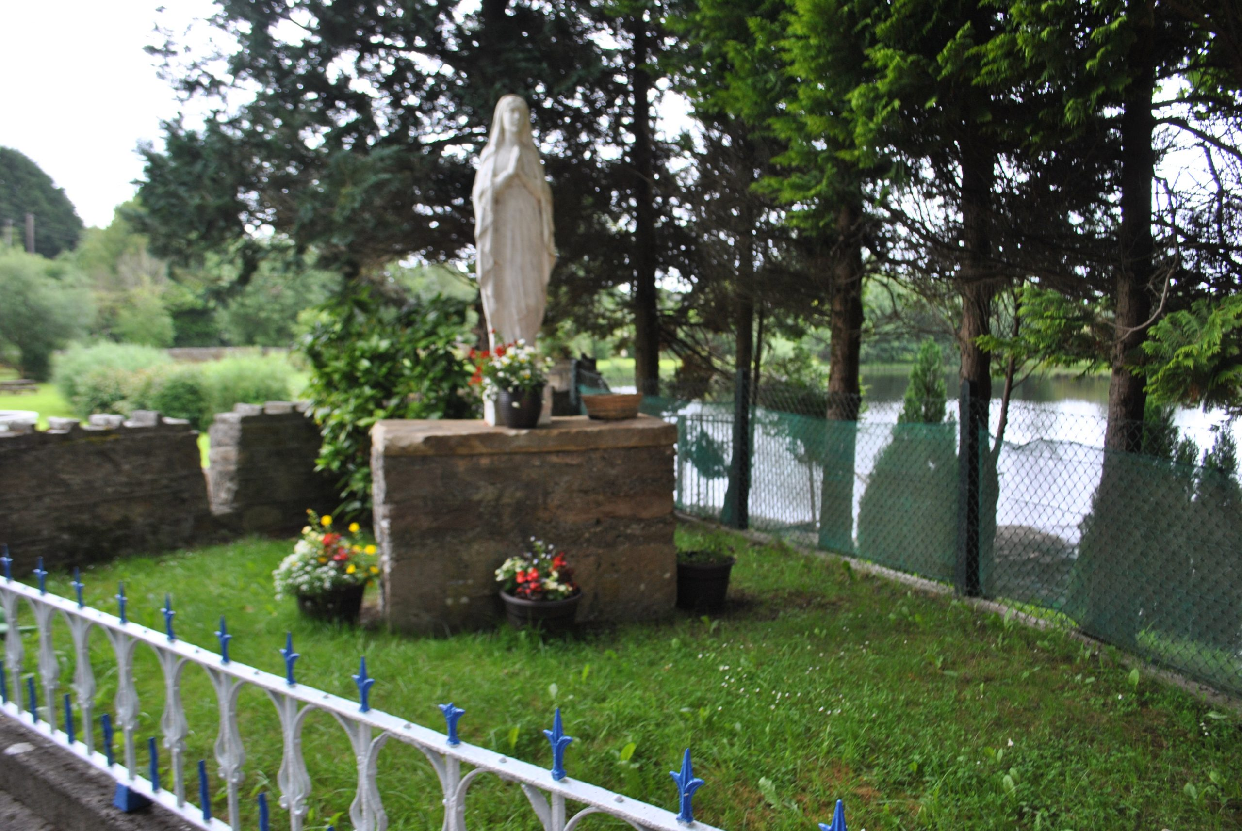 Marian Shrine in Woodford Grotto - Visit Galway