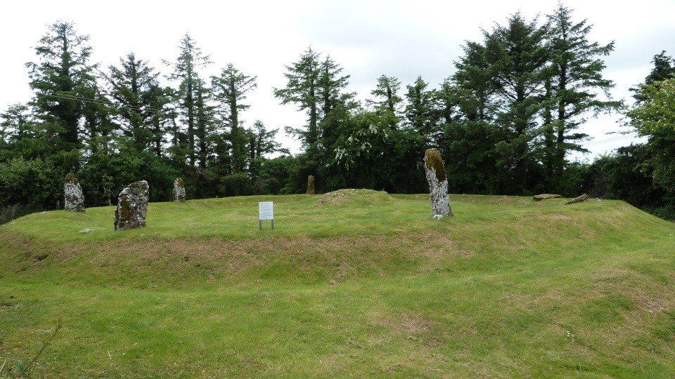 Moanmore West Stone Circle in Galway Ireland - Visit Galway