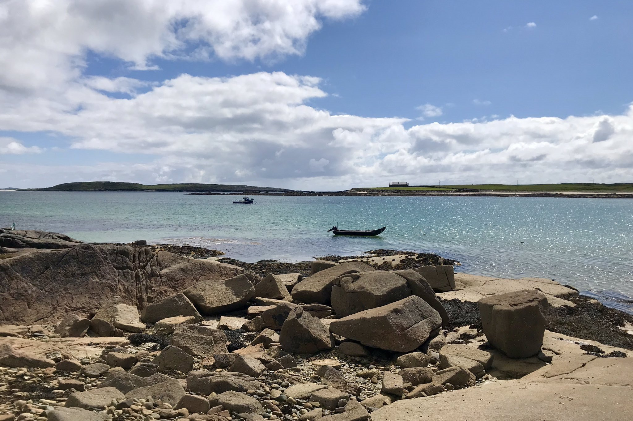 Omey Beach Boats - Visit Galway