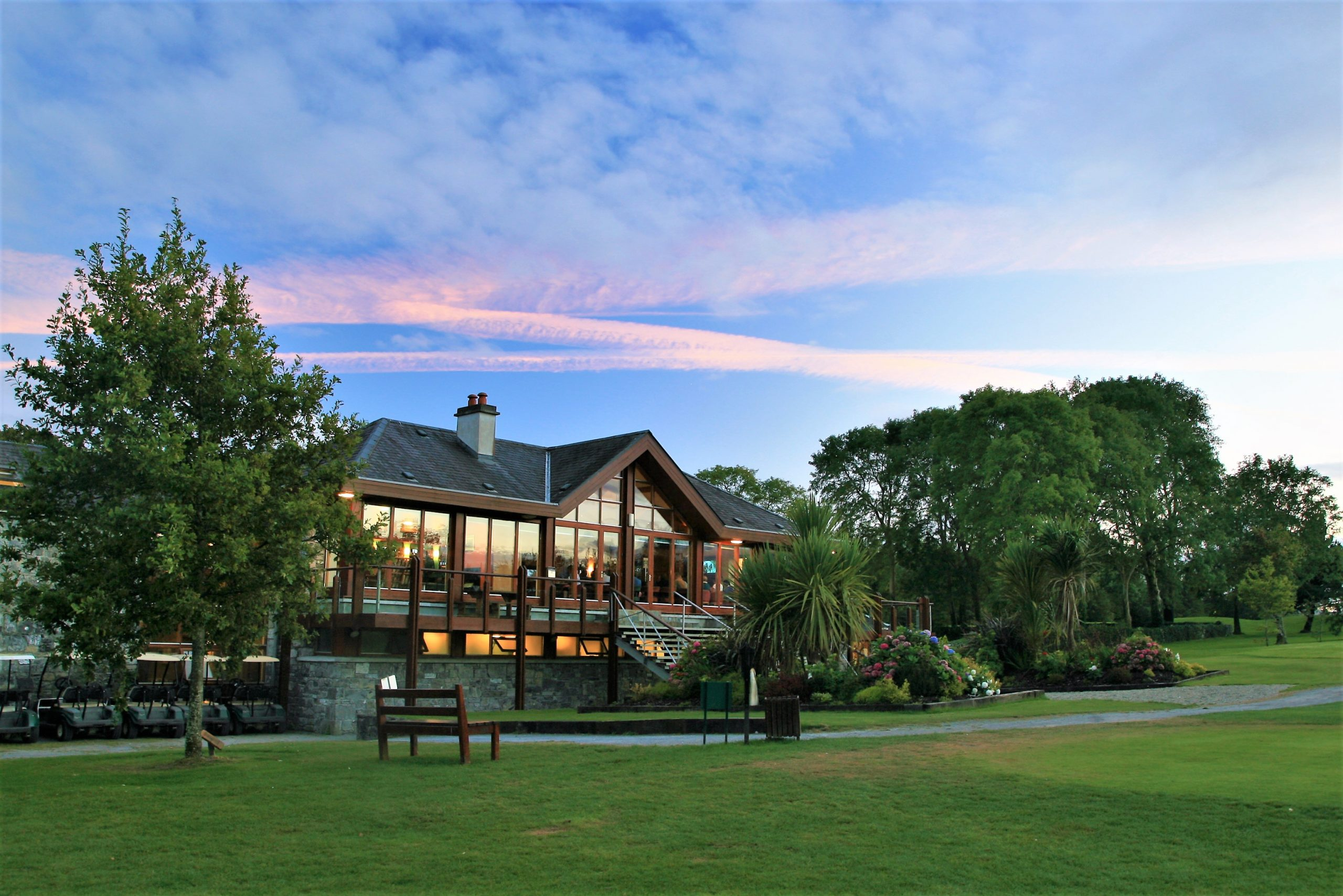 Oughterard Golf Club Clubhouse- Visit Galway