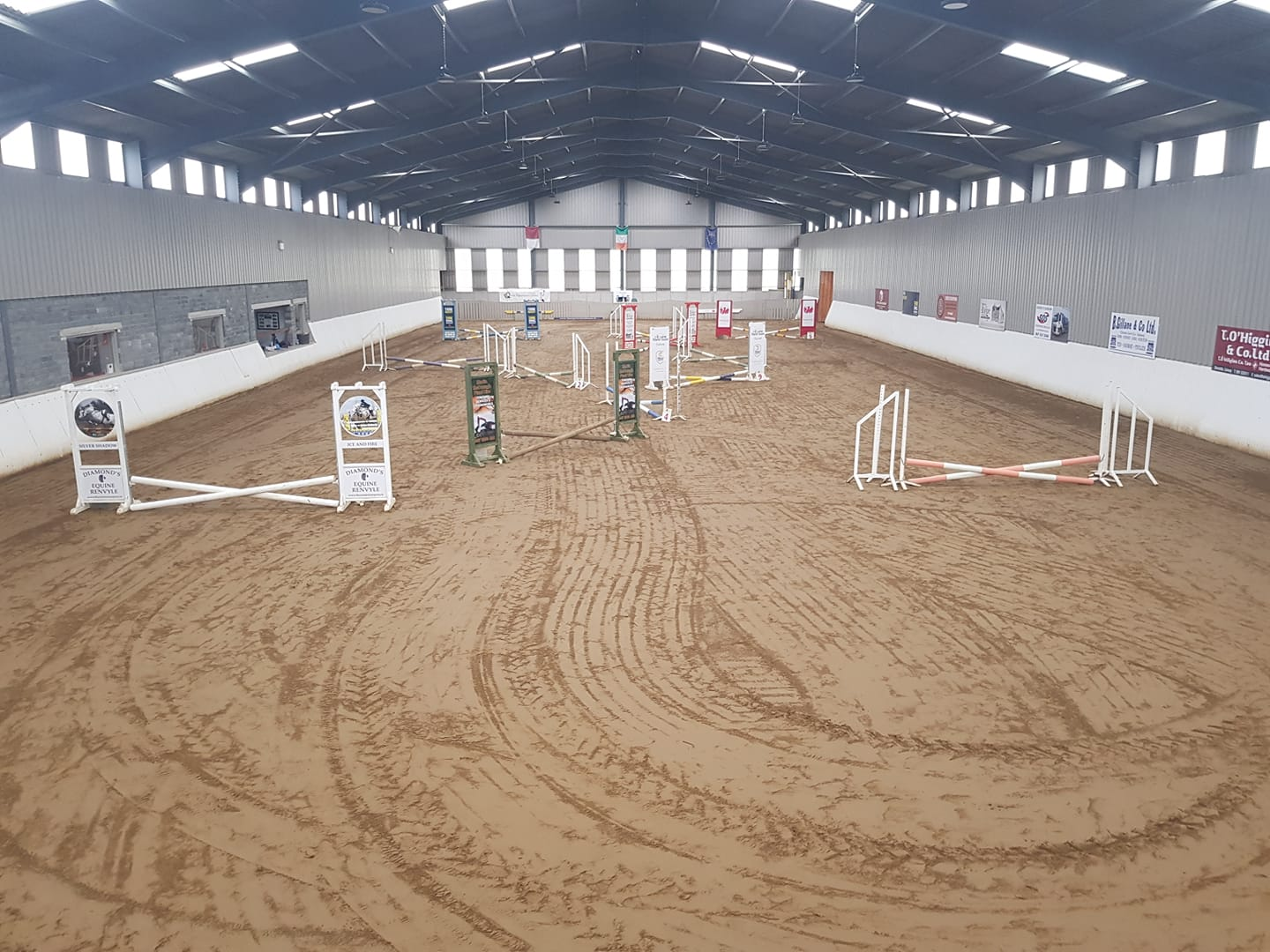 Ower Equestrian Centre Fences - Visit Galway