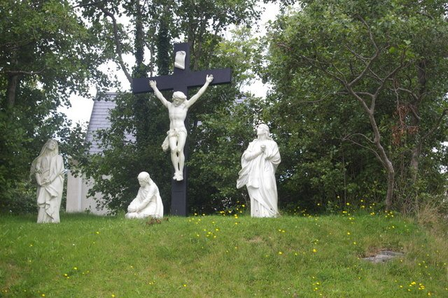 Saints Statues at St. Joseph's Church - Visit Galway