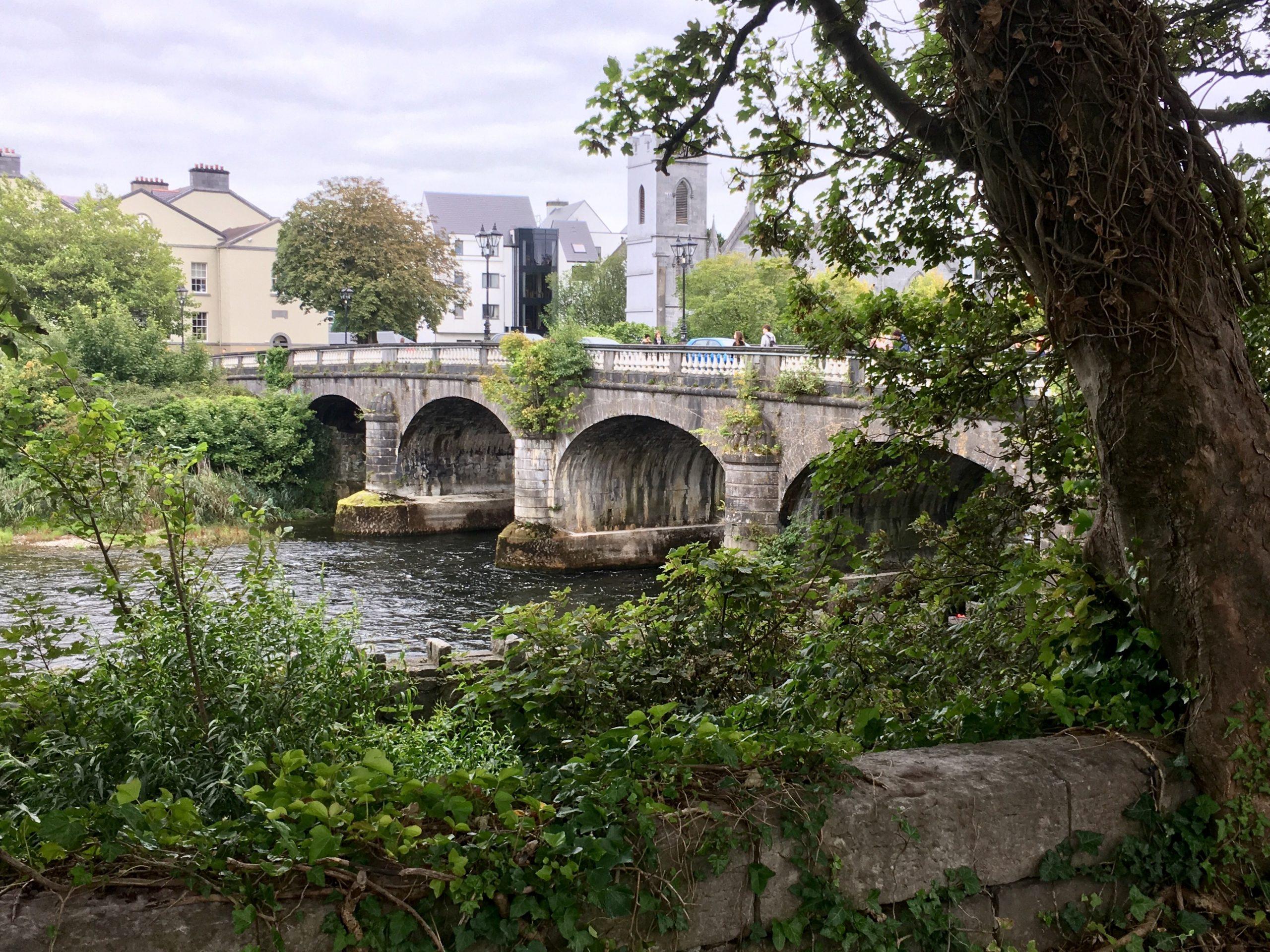 Salmon Weir Bridge in Galway City - Visit Galway
