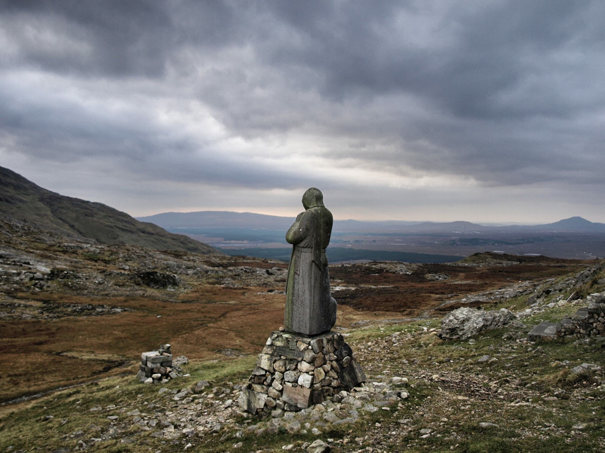 St. Patrick Statue Mamean - Visit Galway