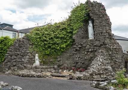 Statues at the Presentation Convent Garden Tuam Galway - Visit Galway