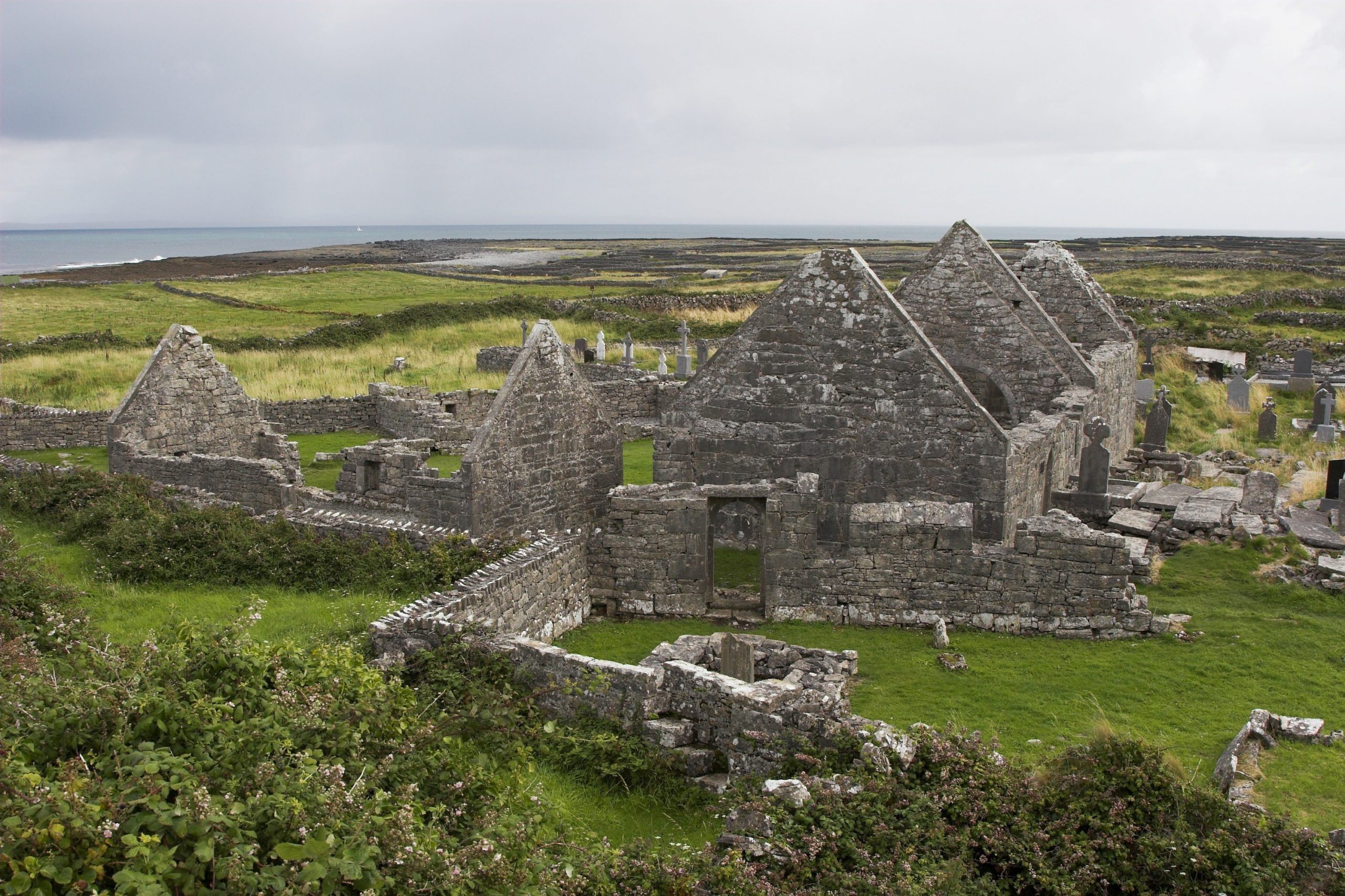 The Seven Churches Inishmore - Visit Galway