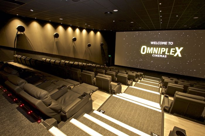 Omniplex Cinema Salthill Luxury Reclining Seats - Visit Galway